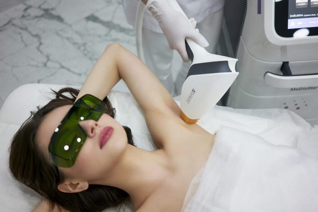 Depilacja laserowa pachy